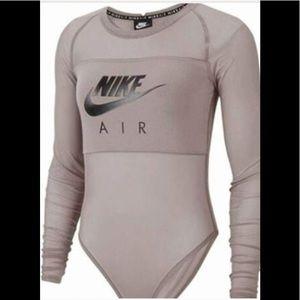 NIKE AIR one piece mesh bodysuit